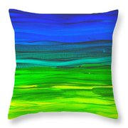 Happy Lights Throw Pillow