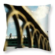 Happy Moment Throw Pillow