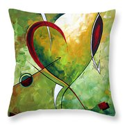 Happy Mother's Day By Madart Throw Pillow
