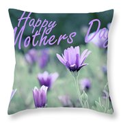 Happy Mothers Day Throw Pillow