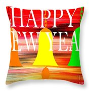 Happy New Year 10 Throw Pillow