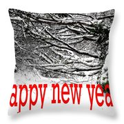 Happy New Year 33 Throw Pillow