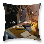 Happy New Year Holidays Throw Pillow
