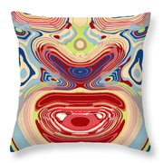 Happy To See Throw Pillow