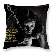 Happy Vlad's Obedient Lady Store Throw Pillow