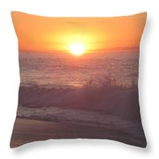 Happy Waters Throw Pillow