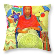 Harar Lady 2 Throw Pillow