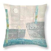 Harbor 4 Throw Pillow