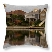 Harbor Homes Throw Pillow
