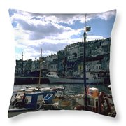Harbor II Throw Pillow