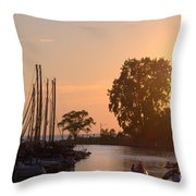 Harbor View 11 Throw Pillow