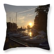 Harbor View 12 Throw Pillow
