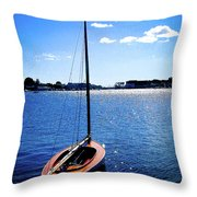 Harbor View 2 Throw Pillow