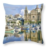 Harborside Msida Malta Throw Pillow