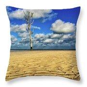 Harbour Island, Bahamas Throw Pillow