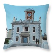 Harbourmasters Office Throw Pillow