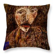 Hard Life Throw Pillow