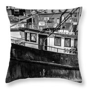 Hard Life Throw Pillow