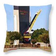 Hard Rock Casino Throw Pillow
