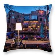Hardrock Cafe Throw Pillow