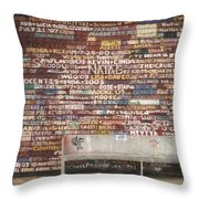 Hardy Gallery Throw Pillow
