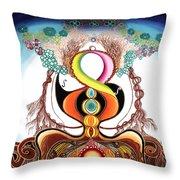 Hari Tao Throw Pillow