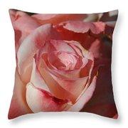Harlekin Rose Throw Pillow