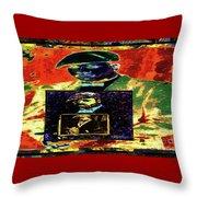Harlem Renaissance Deja Vu Number 1 Throw Pillow