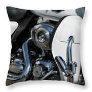 Harley Davidson 15 Throw Pillow