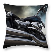 Harley Davidson 8 Throw Pillow
