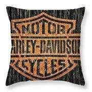 Harley - Davidson Throw Pillow