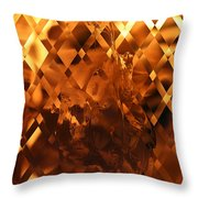 Harley Flame Throw Pillow