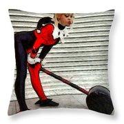 Harley Quinn Classic  - Free Style -  - Da Throw Pillow