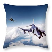 Harmageddon 2 Throw Pillow