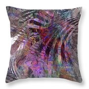 Harmonic Resonance Throw Pillow