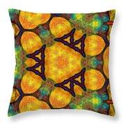 Harmony And Abundance Throw Pillow