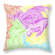 Harmony Magnified Throw Pillow