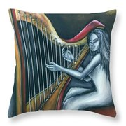 Harmony Of Absence Throw Pillow