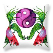 Harmony Together Throw Pillow
