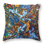 Harmony With Nature-2 Throw Pillow