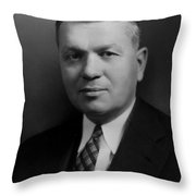 Harold Urey, American Chemist Throw Pillow
