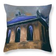 Harold Washington Library 539 2 Throw Pillow