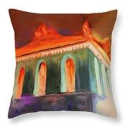 Harold Washington Library 539 4 Throw Pillow