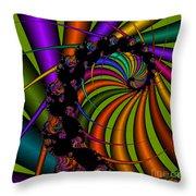 Harp 112 Throw Pillow
