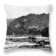 Harper's Ferry From Across The Potomac Throw Pillow