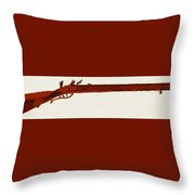 Harper's Ferry Model 1803 Rifle Throw Pillow