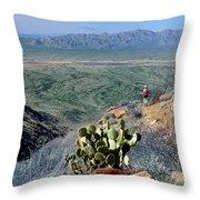 Harquahala Valley Throw Pillow