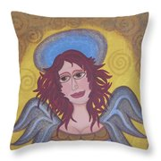 Harried Harriet Throw Pillow