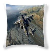 Harrier Element Throw Pillow