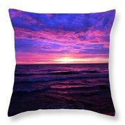 Harrington Beach Sunrise 3 Throw Pillow